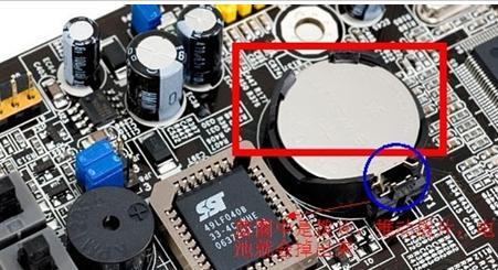 如时钟电路故障,cmos电池插座,coms供电电路滤波电容,cmos芯片有短路