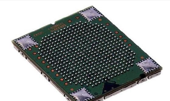 armcpu芯片是如何焊接到印刷电路板上的