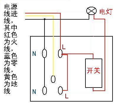 照明电路正确接法